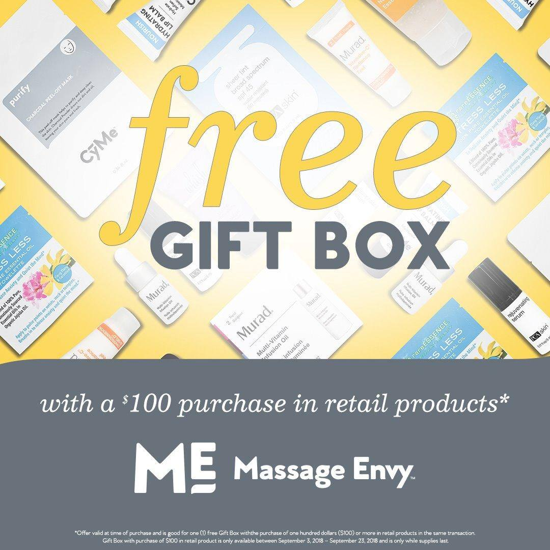 Fall Skin Care Event — Free Gift