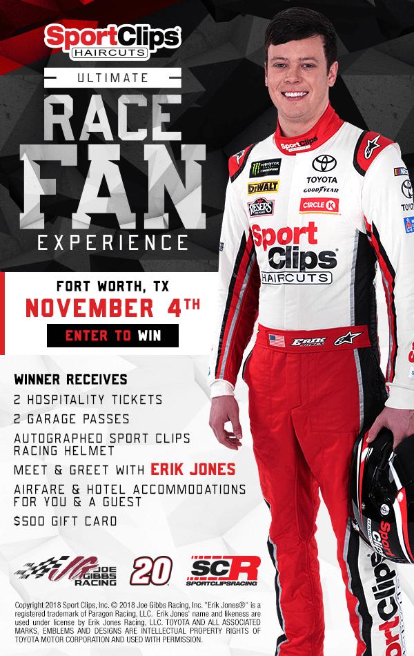 Win the Ultimate Race Fan Experience