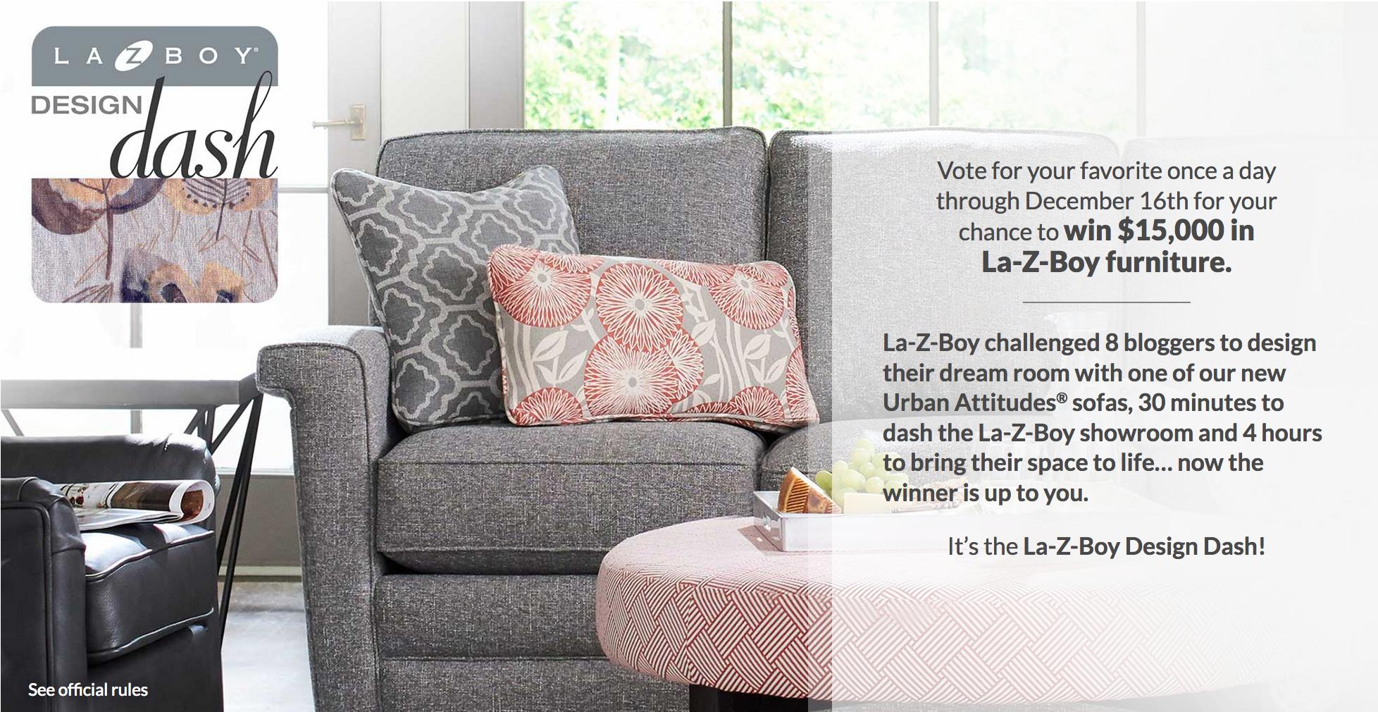 It's the La-Z-Boy Design Dash!