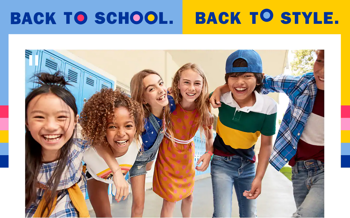 Back to School Means Back to Old Navy!
