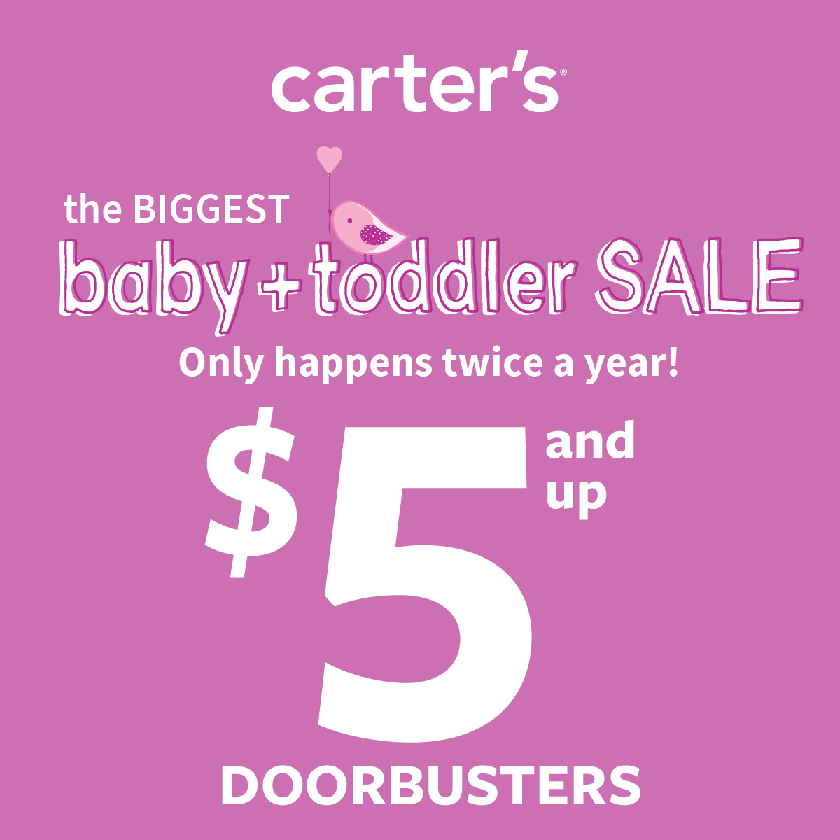 Carter's The Best of Baby Sale — Up to 50% Off