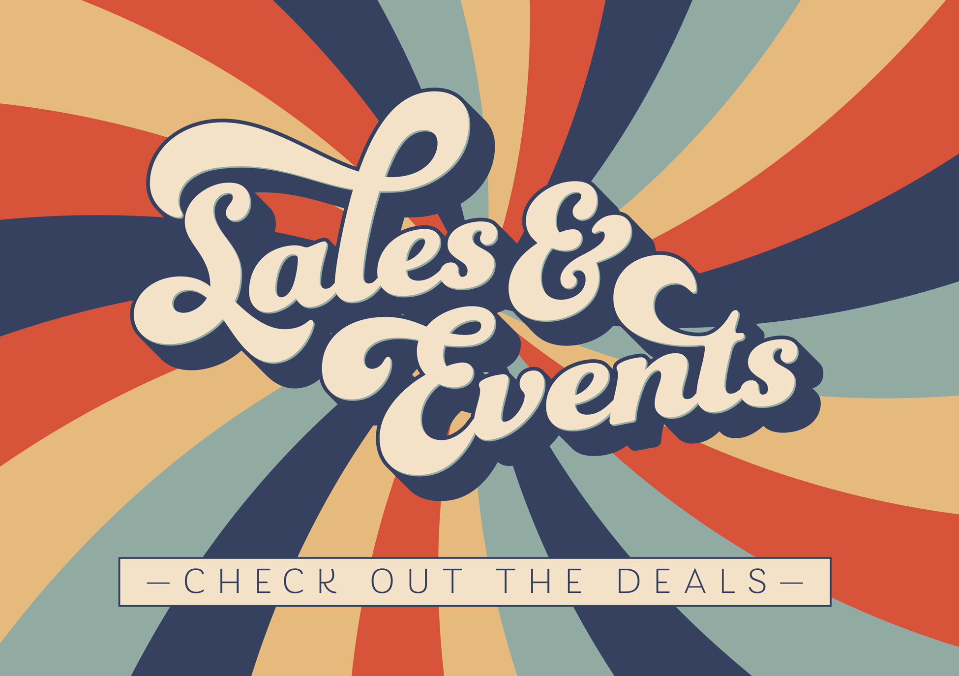 Sales and Events