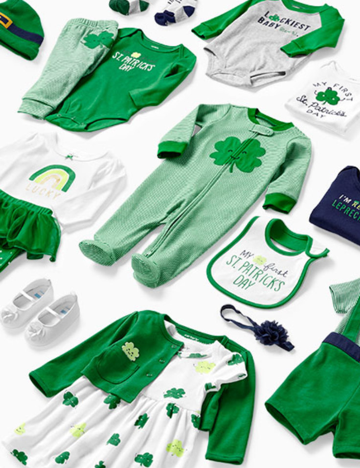 For Baby's First St. Patrick's Day!