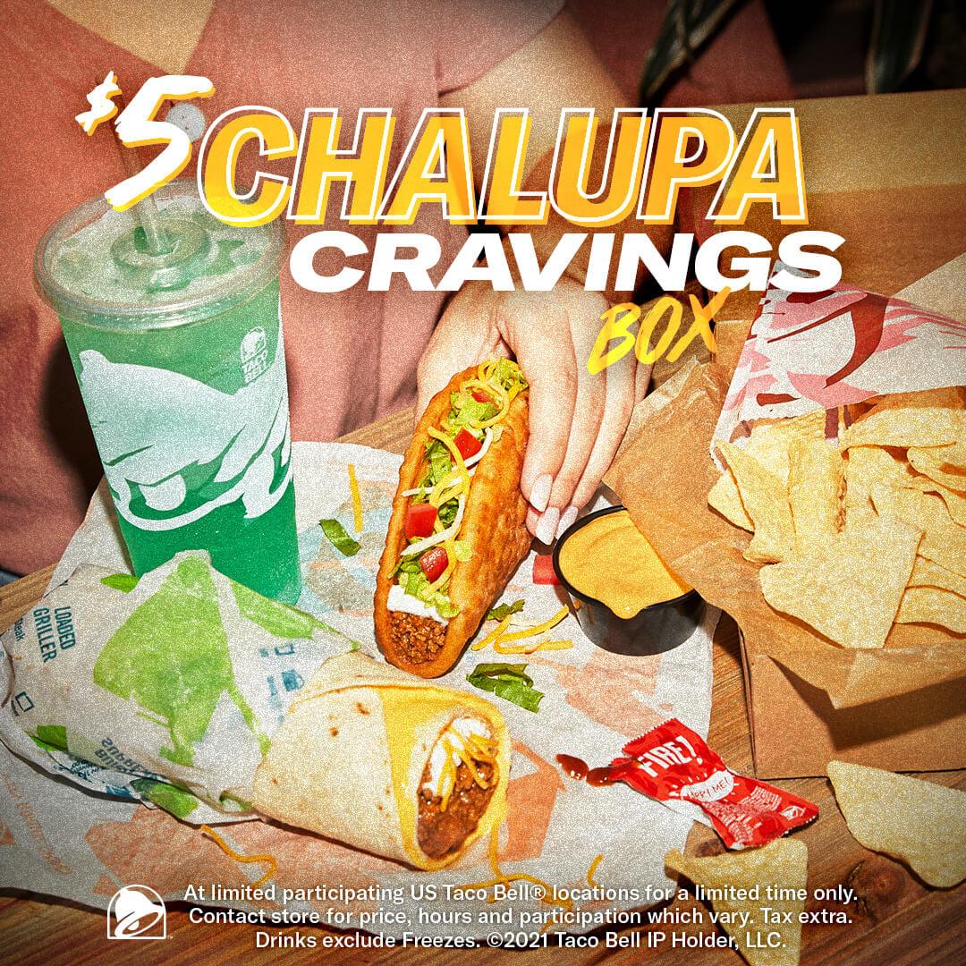 $5 Chalupa Cravings Box