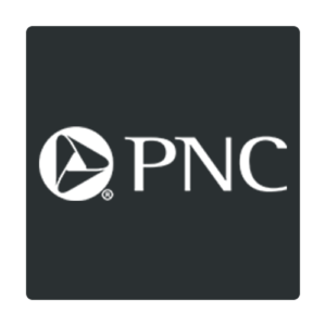 Image result for pnc bank logo black and white""